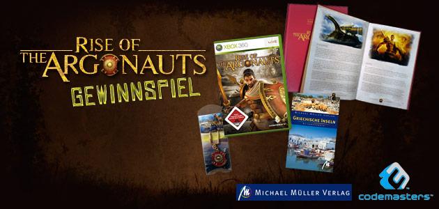 Willkommen beim Rise of the Argonauts Gewinnspiel