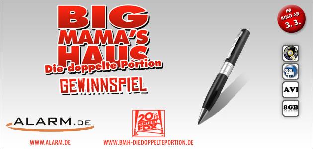 Willkommen beim Big Mama - Gewinnspiel!