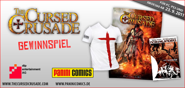 Willkommen beim The Cursed Crusade - Gewinnspiel!
