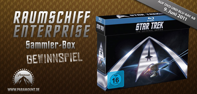 Raumschiff Enterprise Sammlerbox - Gewinnspiel