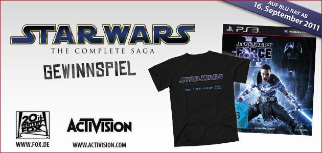 Willkommen beim Star Wars - The Complete Saga - Gewinnspiel!