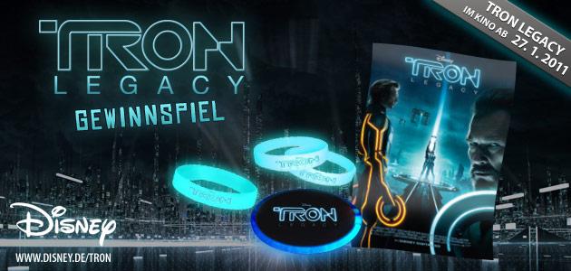 Willkommen beim TRON Legacy - Gewinnspiel!