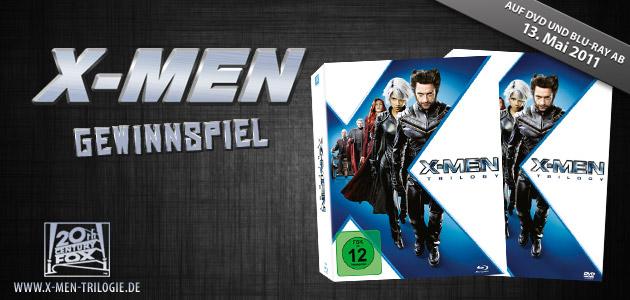Willkommen beim X-Men - Gewinnspiel!