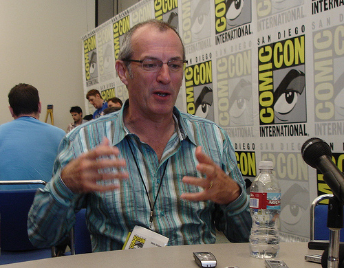 Dave Gibbons bei der Comic Con