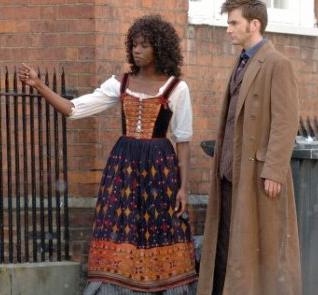Szene vom Set des Weihnachts Specials 2008