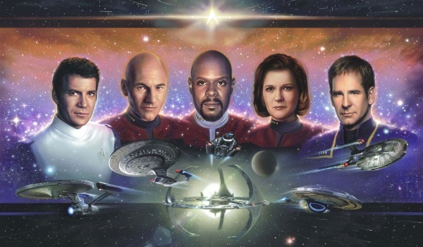 Die Star Trek-Captains