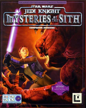 Mysteries of the Sith - Cover 1998